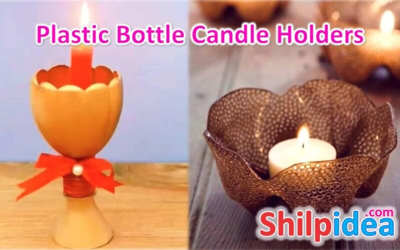 plastic-bottle-candle-holders-shilpidea