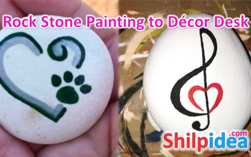 rock-stone-painting-table-decor-shilpidea