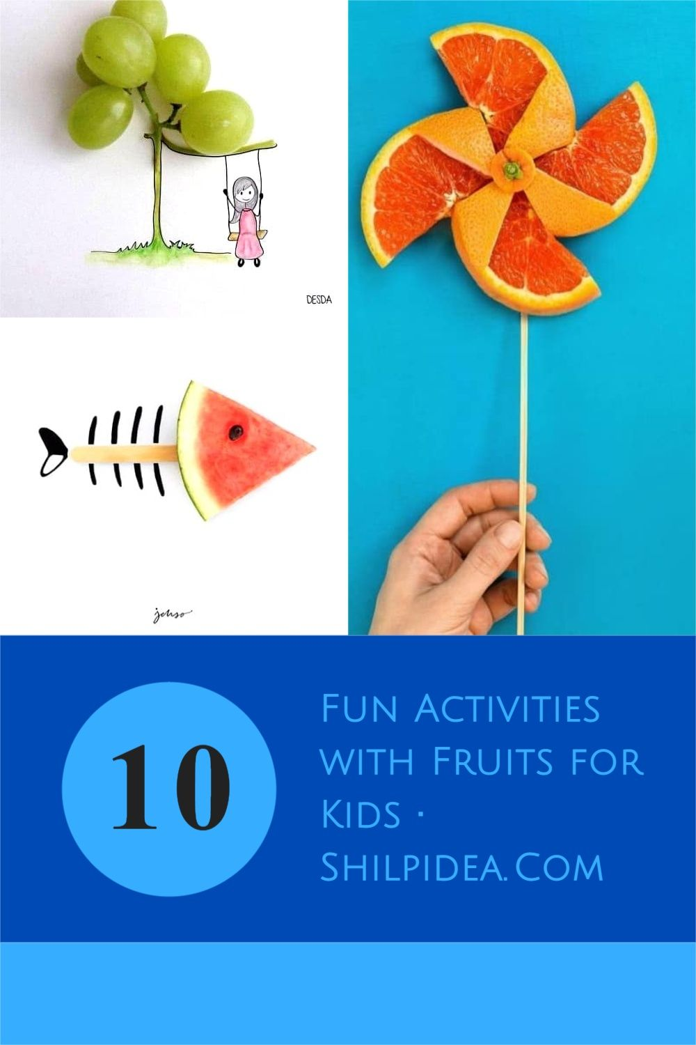 10 Fun Activities with Fruits for Kids • Shilpidea_Com