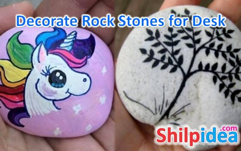decorate-rockstone-for-desk-ideas-shilpidea