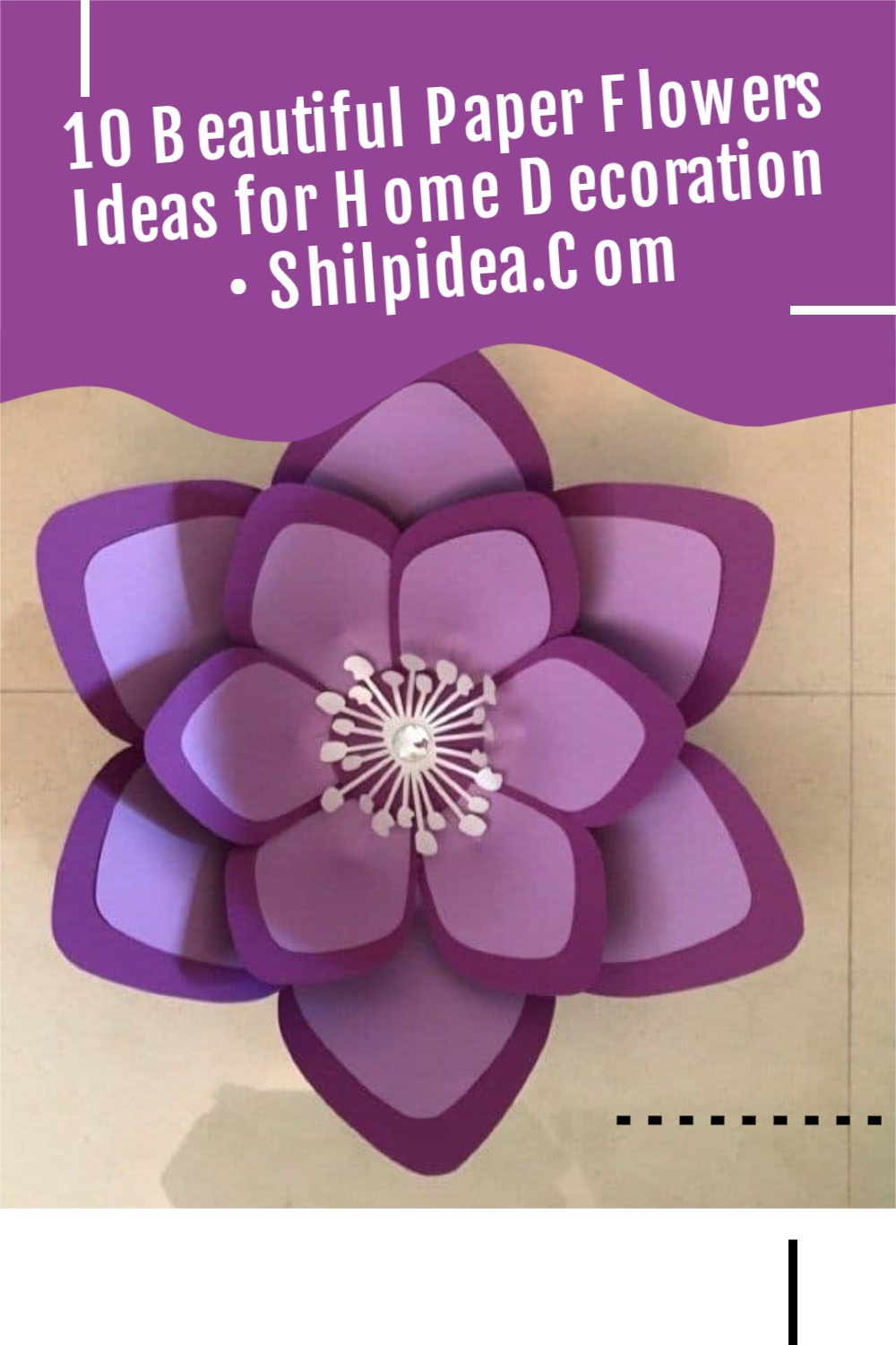 paper-flower-for-home-decor-shilpidea-pin