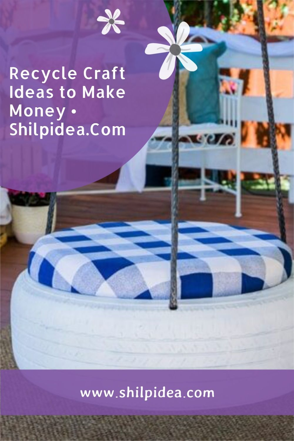 Recycle Craft Ideas to Make Money Shilpidea pin