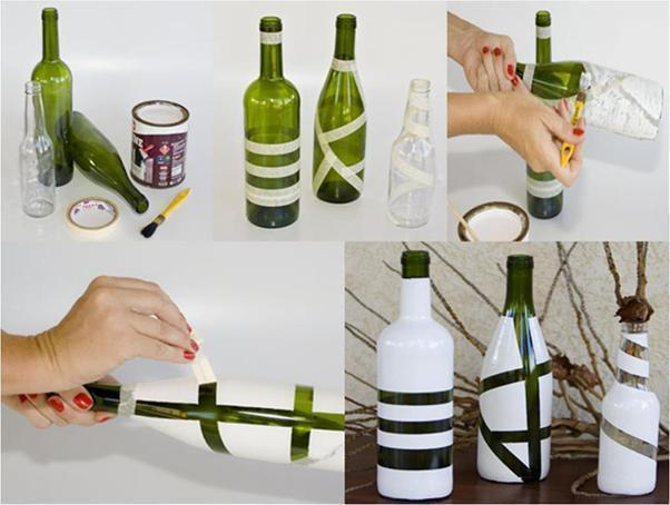recycle-glass-bottle-using-adhesive-tape-shilpidea