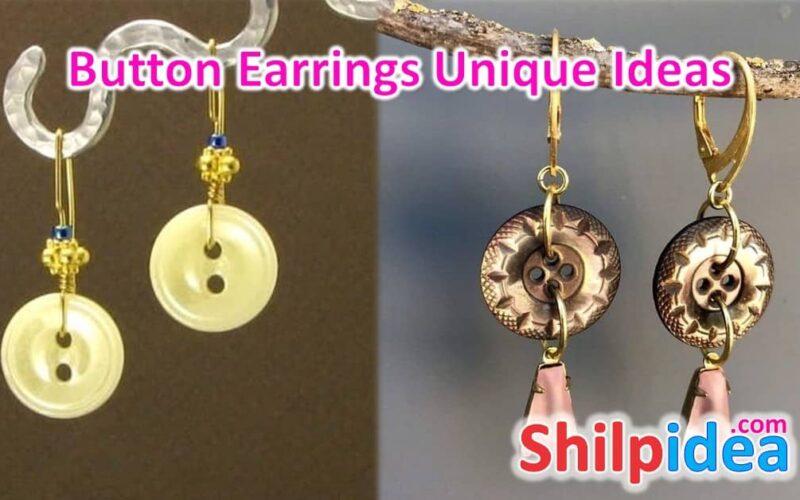 button-earrings-unique-ideas-shilpidea