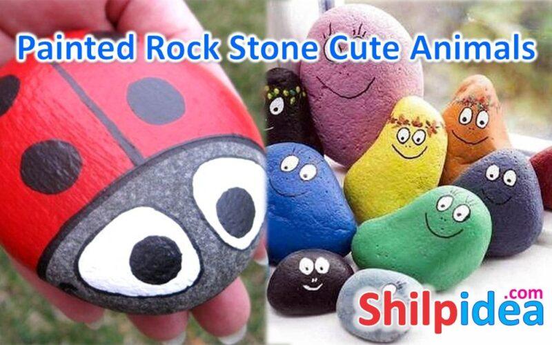 painted-rockstone-animals-ideas-shilpidea