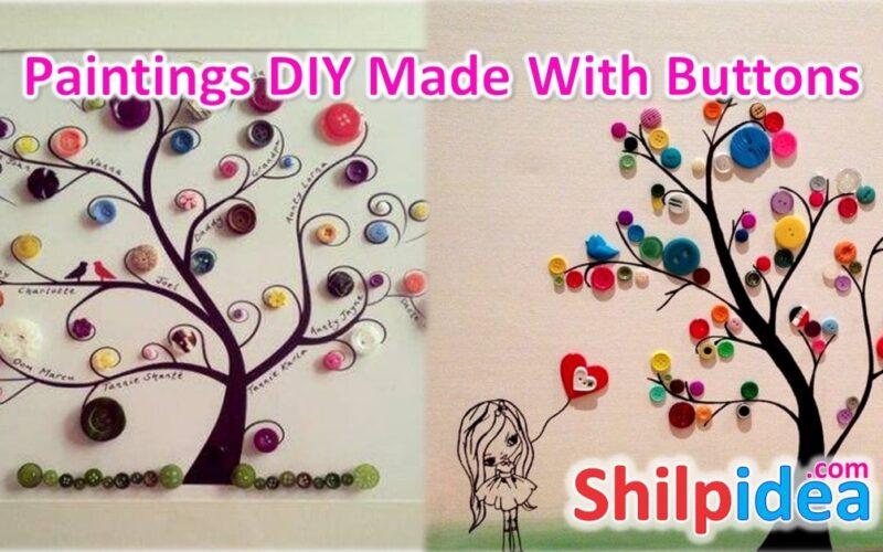 paintins-diy-button-ideas-shilpidea