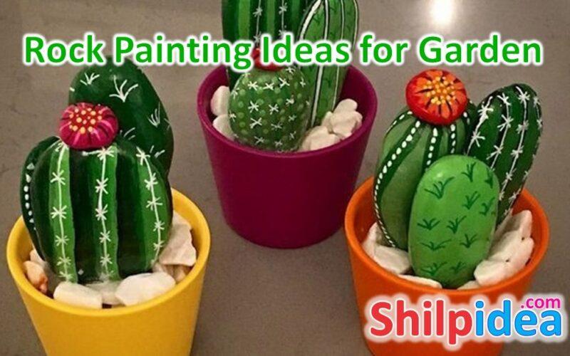 rock-painting-ideas-for-garden-shilpidea