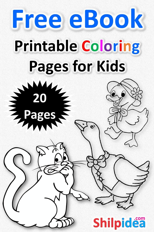 printable coloring ebook