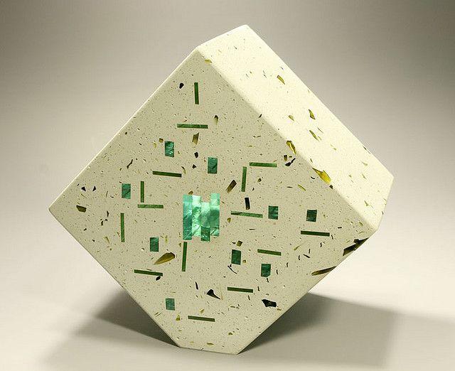 137_Concrete Glass Showpiece_1